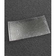 Блюдо прямоугольное 400*200 мм, прозрачное стекло Snail