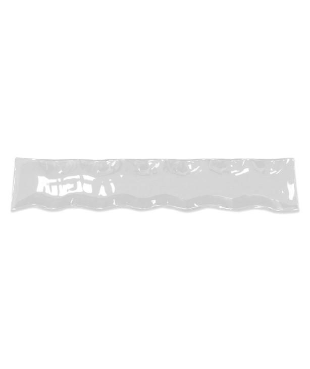 Блюдо для презентации 485*100 мм, черное стекло Wrapy (Прокат)